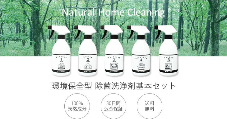 環境型 除菌洗浄剤基本セット